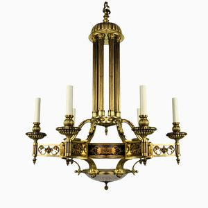 Large French Silver Chandelier 1850s For Sale At Pamono