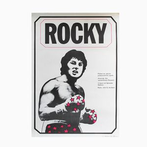 Vintage Rocky I Plakat von Jan Antonin Pacak, 1980