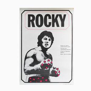 Vintage Rocky I Poster by Jan Antonin Pacak, 1980