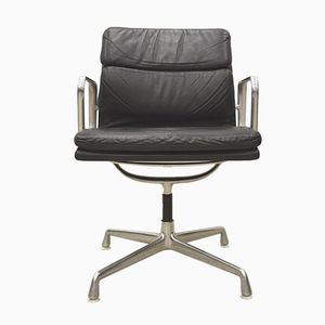 EA208 Alu Soft Pad Office Chair by Charles & Ray Eames for Herman Miller, 1970s