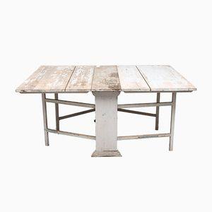Table Basse Antique Peinte, Suède