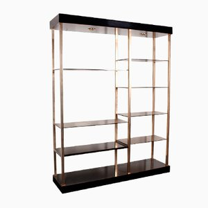 etag re dor e en laiton 1970s en vente sur pamono. Black Bedroom Furniture Sets. Home Design Ideas