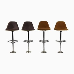Vintage Bar Stools by Ray & Charles Eames for Herman Miller, Set of 4