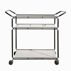 Serving Bar Trolley by Tjerk Reijenga for Pilastro, 1960s