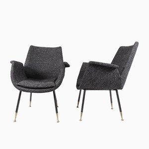 Small Armchairs by Gastone Rinaldi for RIMA, 1956, Set of 2