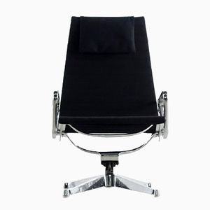 Mid-Century EA 124 Aluminum Group Sessel von Charles & Ray Eames für Herman Miller