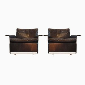 620 Program Lounge Chairs by Dieter Rams for Vitsoe, Set of 2