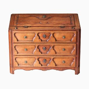 18th Century French Oak Bureau