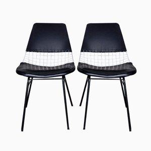 Stühle von Cees Braakman für UMS Pastoe, 1950er, 2er Set