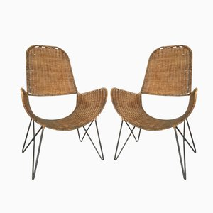 Brouette Stühle von Raoul Guys, 2er Set