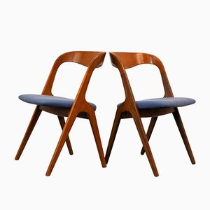 Danish Teak Chairs from Vamo Møbelfabrik, Set of 2