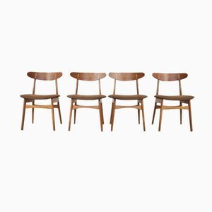 Vintage CH30 Chairs by Hans J. Wegner for Carl Hansen & Søn, Set of 4