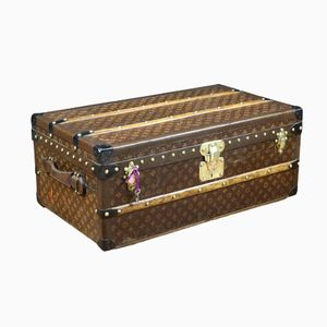 Monogram Cabin Trunk from Louis Vuitton, 1930s