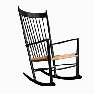 J16 Rocking Chair by Hans J. Wegner for FDB Møbler, 1969