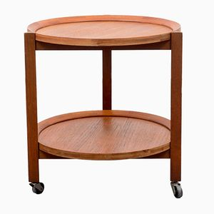Scandinavian Style Teak Serving Trolley, 1960s