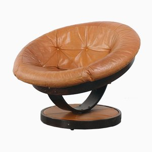 Norwegian Vintage Swivel Ball Chair