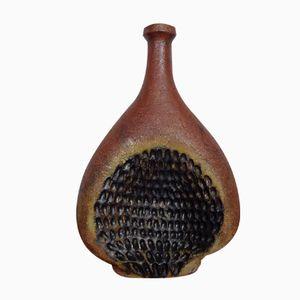 Deutsche Studio Keramik Vase von Gerhard Liebenthron, 1970er
