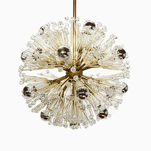 Snowball Chandelier by Emil Stejnar for Robert Nikoll, 1950