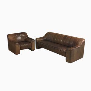 DS44 3-Sitzer Sofa und Sessel von de Sede, 1970er