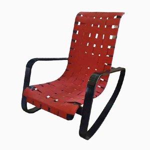 Dondolo Rocking Chair by Luigi Crassevig, 1970s
