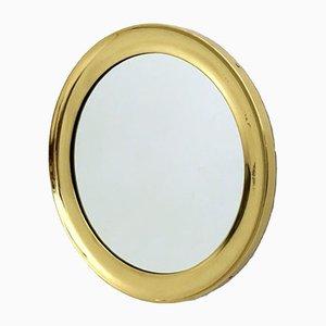 Brass Mirror by Sergio Mazza for Artemide, 1960s