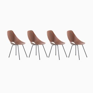 Medea Chairs by Vittorio Nobili for Fratelli Tagliabue, 1955, Set of 4