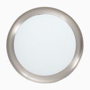 Italienischer Nickel Spiegel von Sergio Mazza Narcisso für Artemide, 1960er