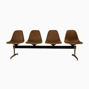 Tandem Sitzbank von Charles Eames für Herman Miller, 1964