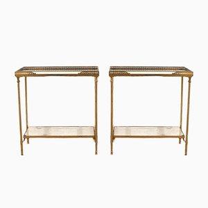 Tables d'Appoint par Maison Jansen, 1950s, Set de 2