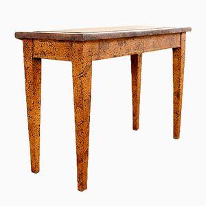 Vintage Beistelltisch mit Holz Intarsie
