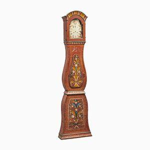 Antike Schwedische Mora Uhr, 18. Jh.