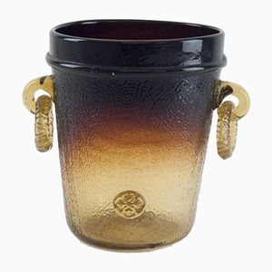 Glass Champagne Bucket from Biot, 1960