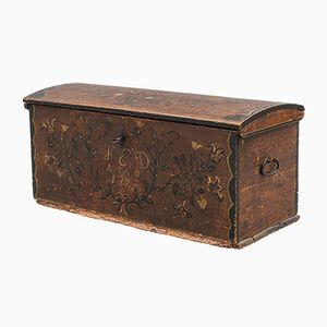 Antique Swedish Chest, 1793