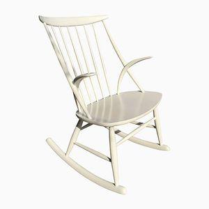 Rocking Chair par Illum Wikkelsø pour N. Eilseren, 1960s