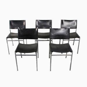 Vintage Modell SE06 Esszimmerstühle von Martin Visser für 't Spectrum, 5er Set