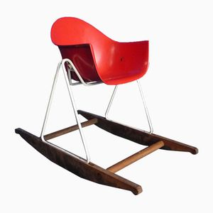 Children's Rocking Chair by Walter Papst for Wilkhahn, 1950s
