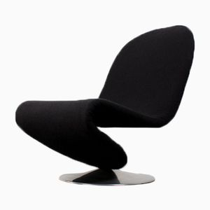 Vintage 123 Swivel Chair by Verner Panton for Fritz Hansen