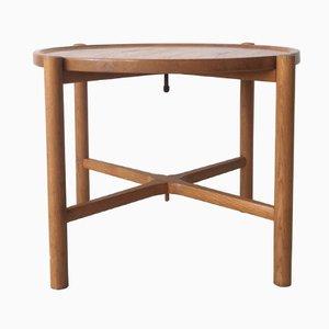 PP 35 Tisch mit Servierplatte von Hans J. Wegner für PP Møbler, 1970er