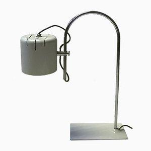 White Italian Vintage Table Lamp, 1970s