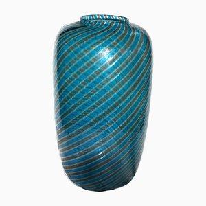 Striped Glass Vase from Venini