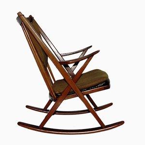 Rocking Chair par Frank Reenshang pour Bramin, 1960s