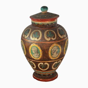Vase Vintage en Céramique, Italie