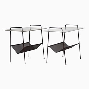 Dutch TM04 Side Tables by Cees Braakman for Pastoe, 1953, Set of 2