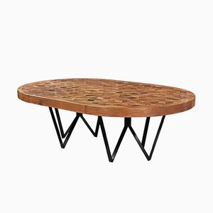 Maurits Dining Table with Iron Legs by Fred & Juul