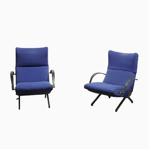 P40 Armchairs by Osvaldo Borsani for Tecno, Set of 2