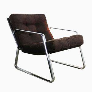 Chrome Italian Lounge Chair, 1970s