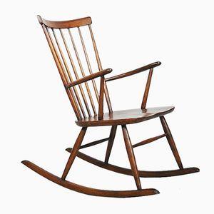 Oak Rocking Chair, 1950s