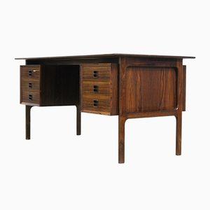Dänischer Mid-Century Palisander Schreibtisch von Arne Vodder für Sibast