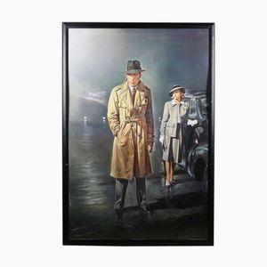 Vintage Casablanca Poster by Renato Casaro, 1996