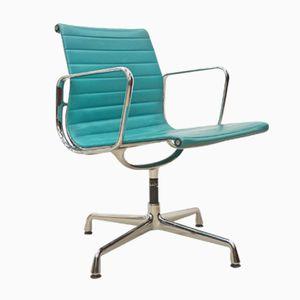 Chaise de Bureau EA108 en Aluminium par Charles & Ray Eames pour Vitra, 1980s